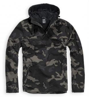 Jacke Windbreaker darkcamo L