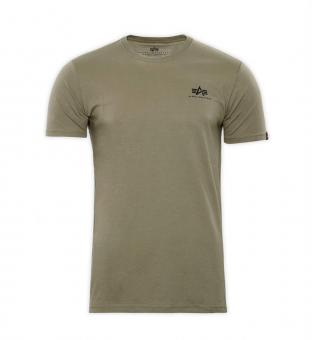 T-Shirt Basic Small Logo khaki